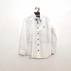 Camisa Niño Blanca con...