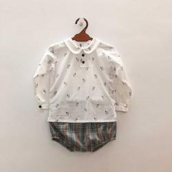 Conjunto bebé blusa...