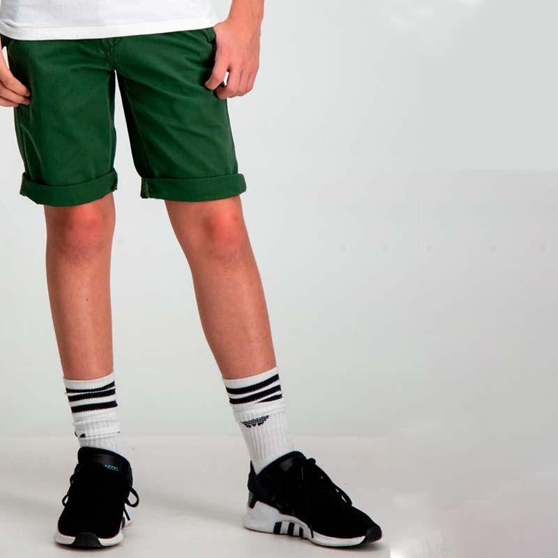 bermuda niño garcia jeans verde