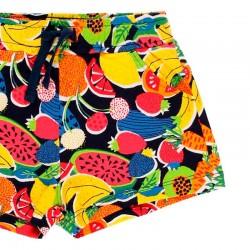 short de niña boboli estampado frutas