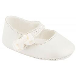 zapatos bebé niña nacarados de bautizo