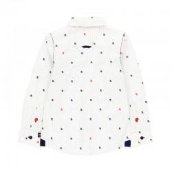 camisa niño boboli estampado pulpos por detras