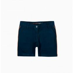 Pantalón bermuda niño azul...