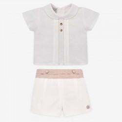 Conjunto ropa bebé niño Paz...