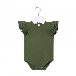 Body bebé verde con...