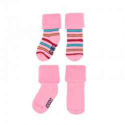 Calcetines rosa de bebé...