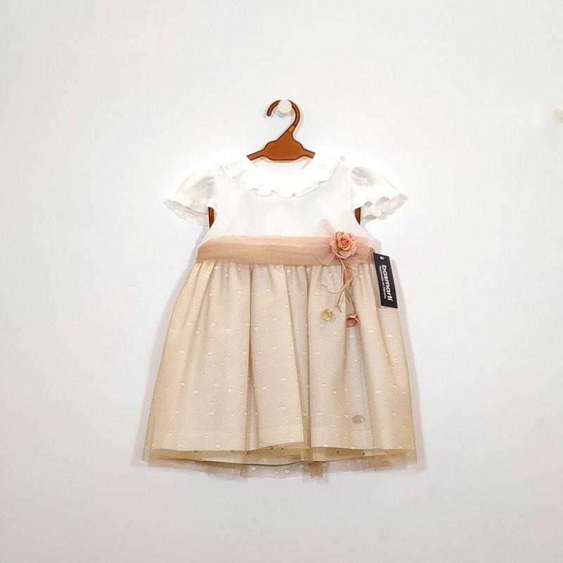 vestido niña de ceremonia bas marti de lino