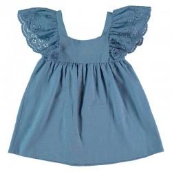 Vestido niña lino Bimbalina...