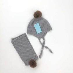 Gorro y bufanda bebé tricot...