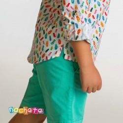 Pantalón corto niño Nachete...