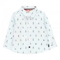 Camisa popelín de bebé niño...