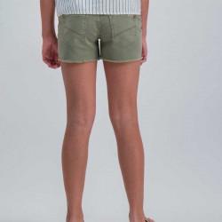 short de niña garcia jeans verde