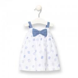 Vestido bebé Tous en blanco...