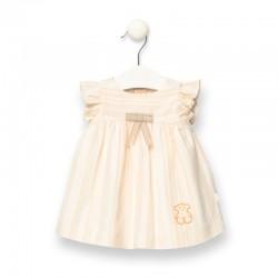 Vestido de bebé a rayas...