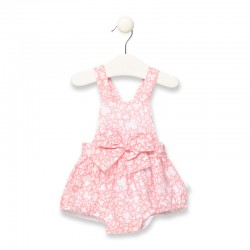 Pelele de bebé niña rosa...