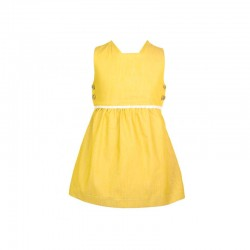 vestido niña eve children amarillo mostaza