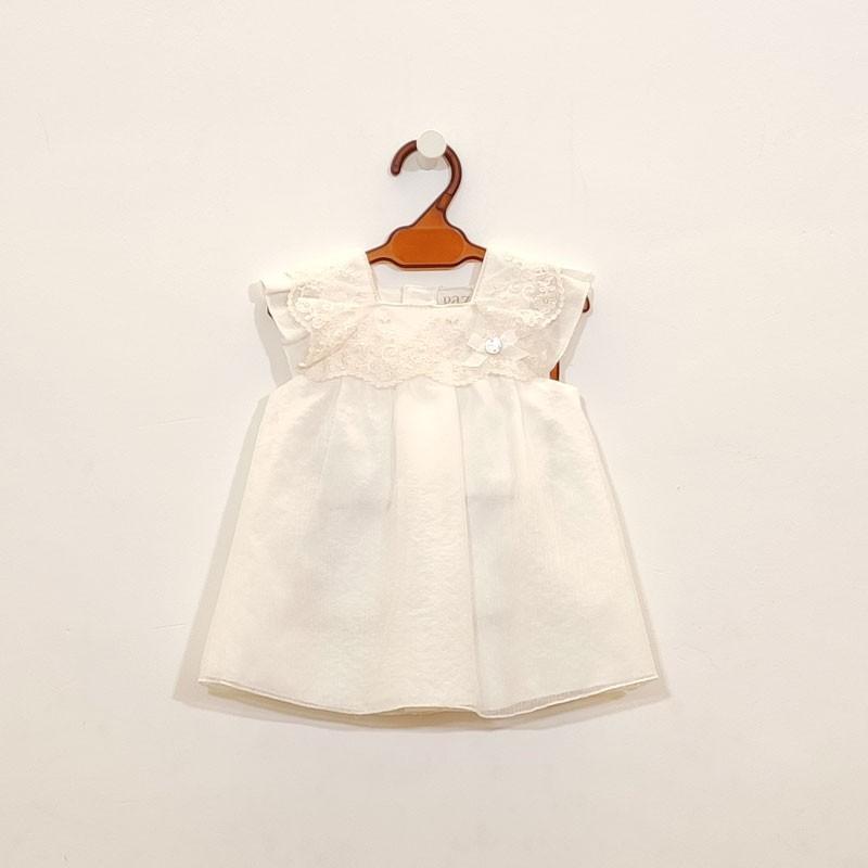 ropa bautizo bebe moderna de niña paz rodriguez