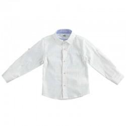 Camisa de Niño Blanca a...