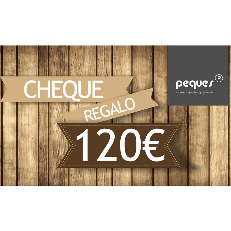 cheque regalo 120 € ropa de niños