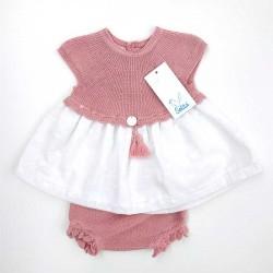 jesusito bebe rosa y blanco de solita
