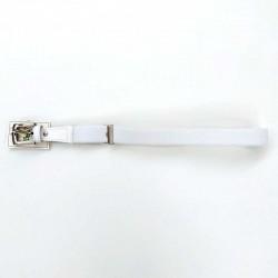 cinturón niño elástico blanco de vaello