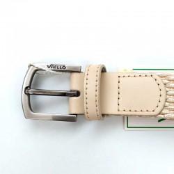 cinturón niño trenzado crudo de vaello