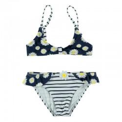 bikini bimbalina de margaritas y rayas