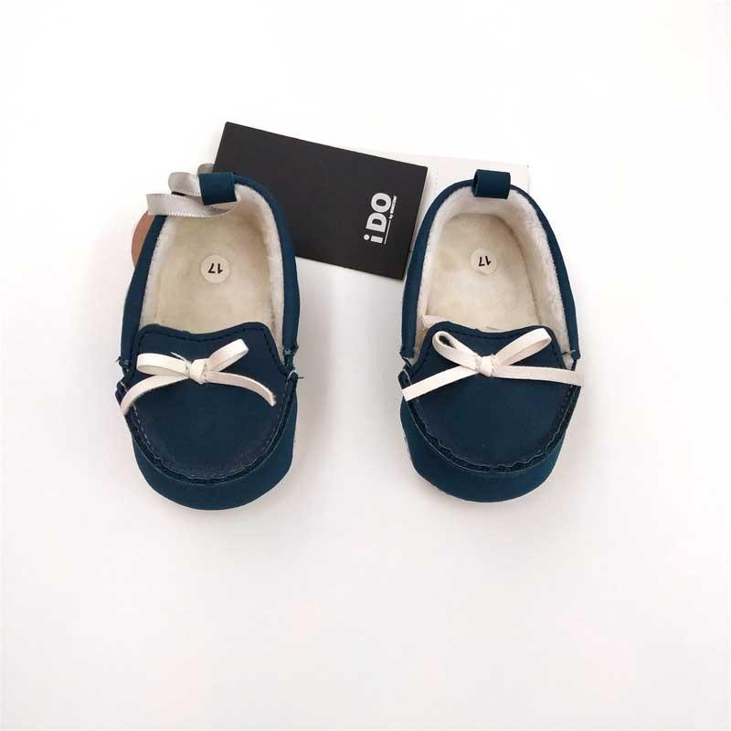 zapatos bebe náuticos azules de ido