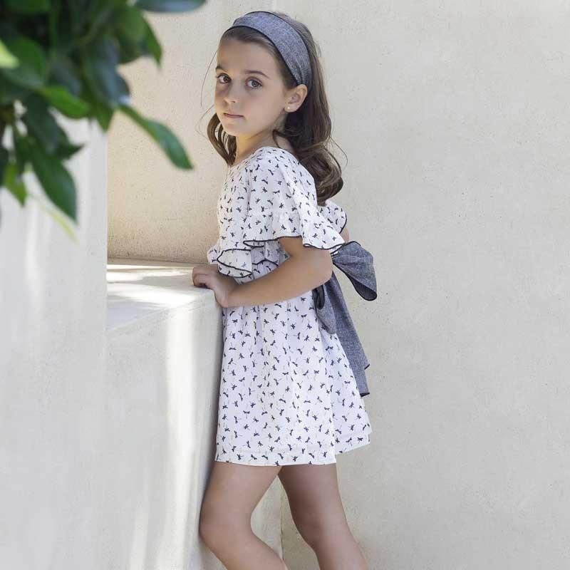 vestido niña estampado de libelulas eve children