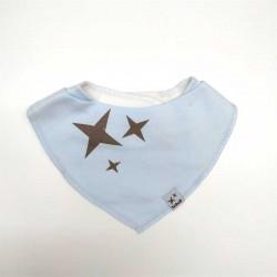 bandanas bebé de algodón azul boboli