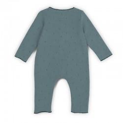 pelele bebé algodón orgánico verde de baby clic