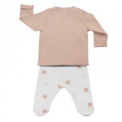 conjunto bebe niña rosa de baby clic para otoño-invierno