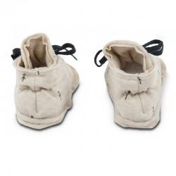 zapato punto bebé baby clic beige woods