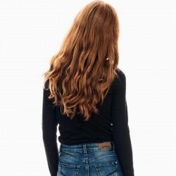 jersey niña negro de garcia jeans