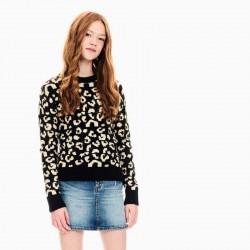 jersey niña de garcia jeans con animal print
