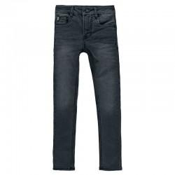 pantalon vaquero niño negro desgastado garcia jeans