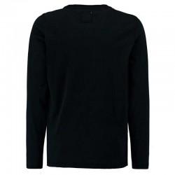 camiseta niño manga larga negra de garcia jeans
