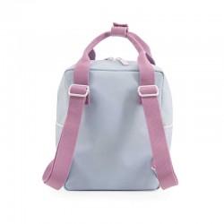 mochila niños sticky lemon pequeña azul y violeta