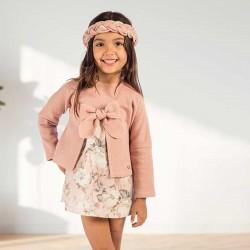 Vestido niña Bas Marti rosa...