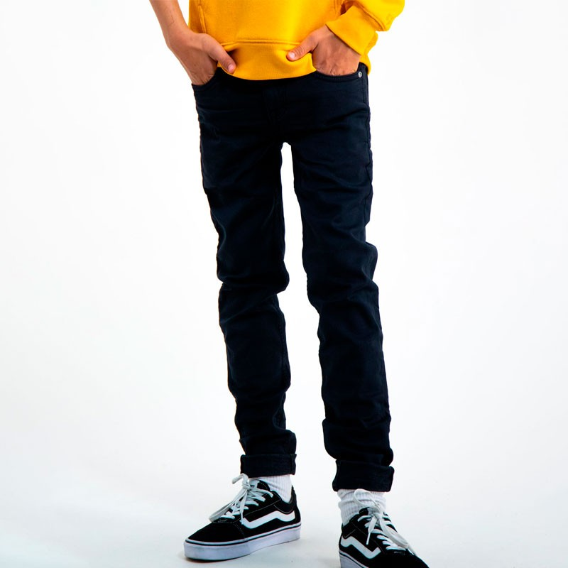 pantalon vaquero de niño negro garcia jeans