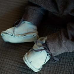 zapato punto de bebe verde baby clic