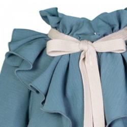 vestido niña invierno turquesa de eve children