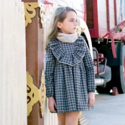 vestido niña invierno con volante eve children
