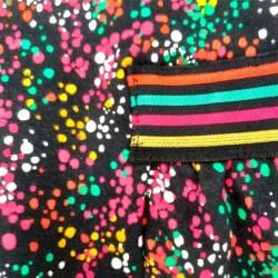 vestido niña felpa de colores boboli