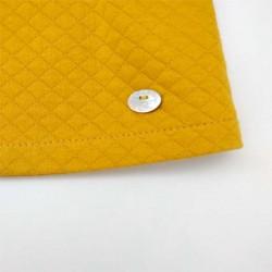 vestido niña invierno de bas marti amarillos mostaza