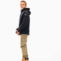 cazadora niño de vestir garcia jeans marino y negra