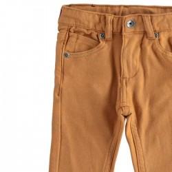 pantalon niño de vestir marron ido