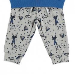chandal bebe niño azul y gris bimbalu
