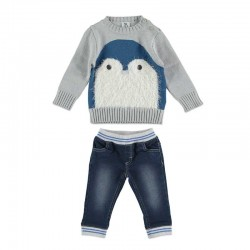 conjunto bebe niño jersey y pantalon bimbalu