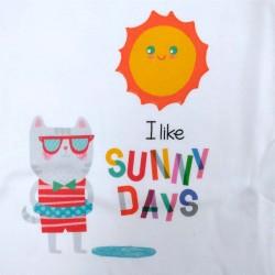 body cuello americano manga larga sunny days